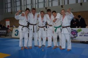 Unsere Judoka bei den Nordostdeutschen Meisterschaften 2013, 3. Platz