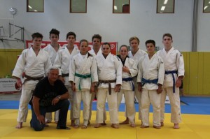Judoka beim Tuzla-Cup im Juni 2014.