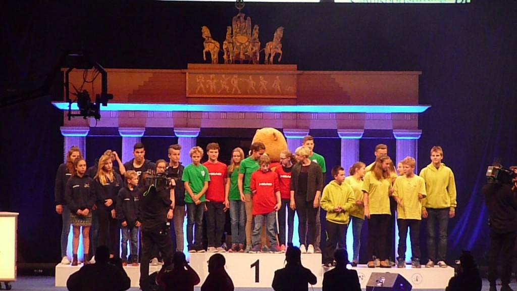 2.Platz für MV in Mixedstaffel