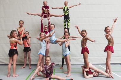 Sportakrobatinnen erfolgreich in Göhren