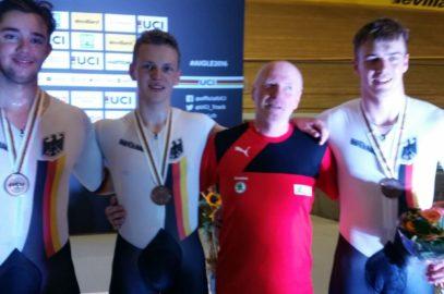 Carl Hinze holt Bronze bei Bahnrad-WM