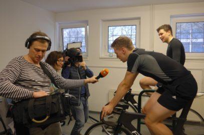 ZDF interviewte Eliteschüler des Sports