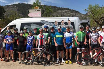 Radsportler aus Mallorca zurück