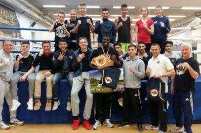 Boxer empfingen Europameister Peter Kadiru