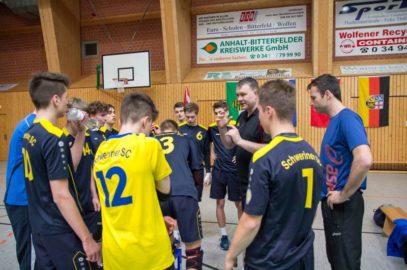 U18-Volleyballer bei DM geschlagen