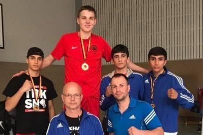 Boxer Viktor Jurk Deutscher Meister U19