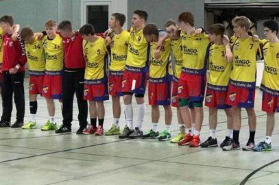 Gelungener Auftritt unserer Handball-Landesauswahl