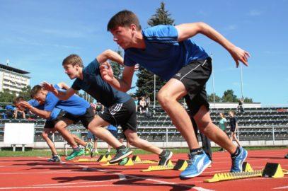 Sporttage und Sponsorenlauf
