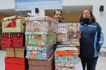 """Aktion """"Weihnachten im Schuhkarton"""" unterstützt"""
