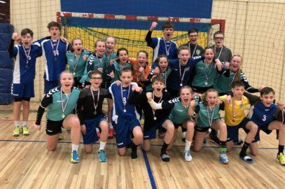 Erster und zweiter Platz für Handballer beim JtfO-Landesfinale