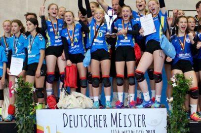 Volleyballerinnen Deutsche Meisterinnen U14!