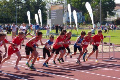 Jüngste Athleten beim Ostseepokal