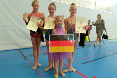 Sportgymnastinnen in Österreich vertreten