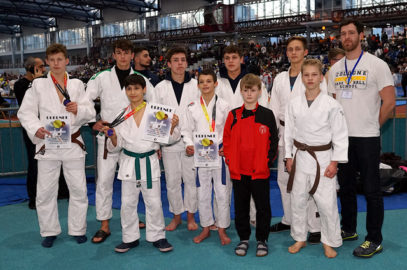 Zahlreiche Medaillen für Judoka beim Adler Cup