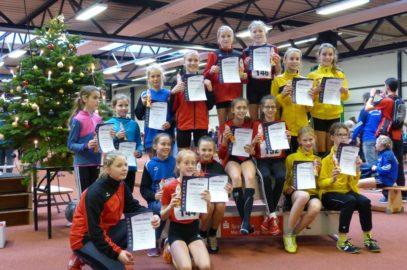 Schüler-Weihnachtssportfest der Leichtathleten