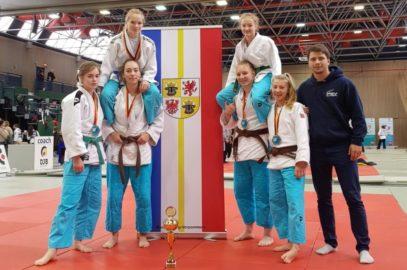 Judoka Deutsche Vizemeisterinnen